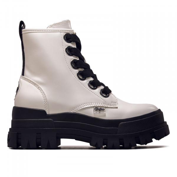 Damen Boots - Asha Lace Up Hi - White
