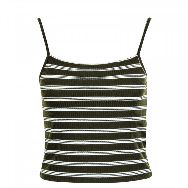 Damen-Top Larra Cropped Singlet JRS Tarmac Stripes