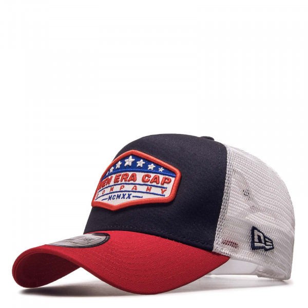 Cap Star Patch Truck Navy Red