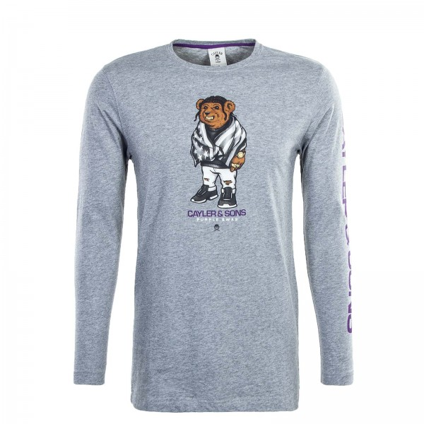 Cayler&Sons LS Purple Swag Grey