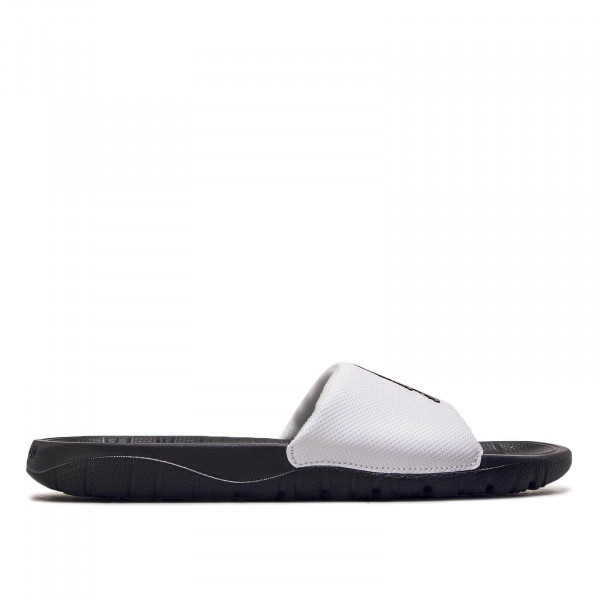 Herren Slide Break White Black
