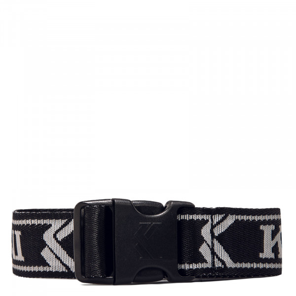 Gürtel - College Click Belt - Black / White