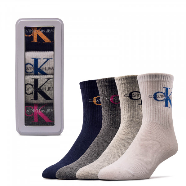 Socken 4er Pack Giftbox Jean Blue Combo