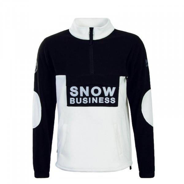 Unfair Sweat Fleece Snow Business Black