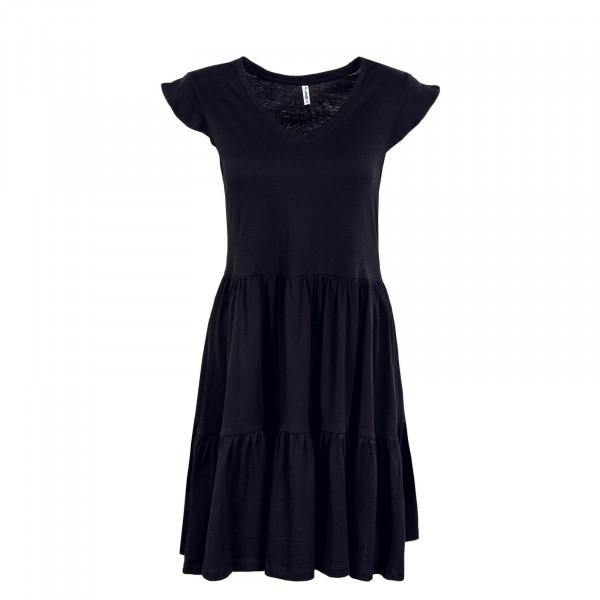 Damen Kleid - May Life Cap Frill - Black