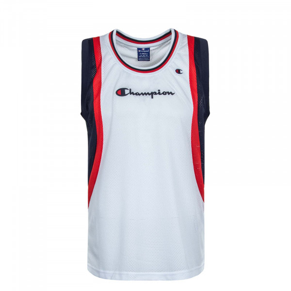 Herren-Tanktop 268 White Navy Red