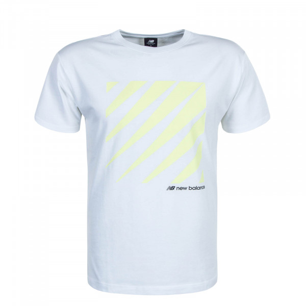 Herren T-Shirt MT01539 White Yellow