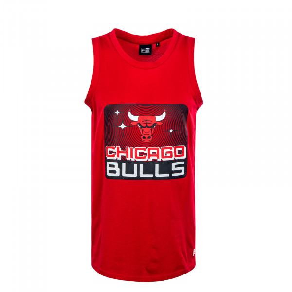 Herren Tanktop - NBA Team Graphic Chicago Bulls - Red