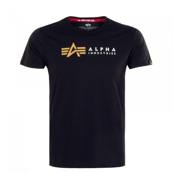 Herren T-Shirt - Label - Black