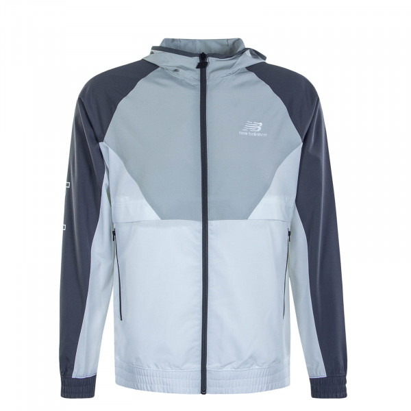 Herrenjacke MJ03502 123 Athletics Podium Grey White