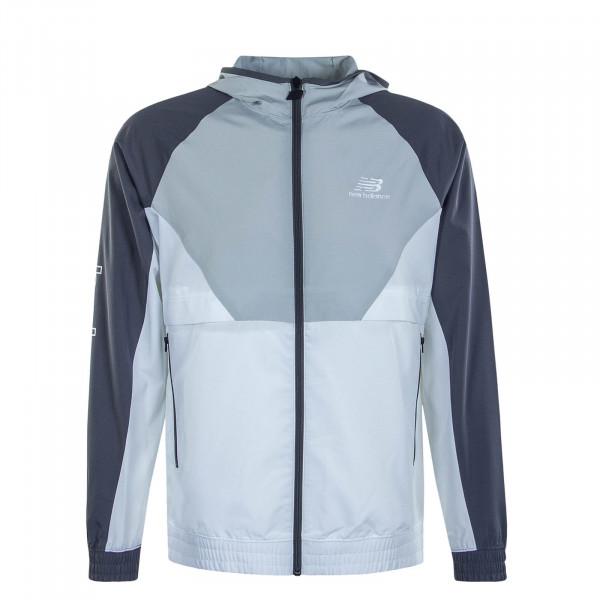 Herren Jacke - Athletics Podium - Grey / White