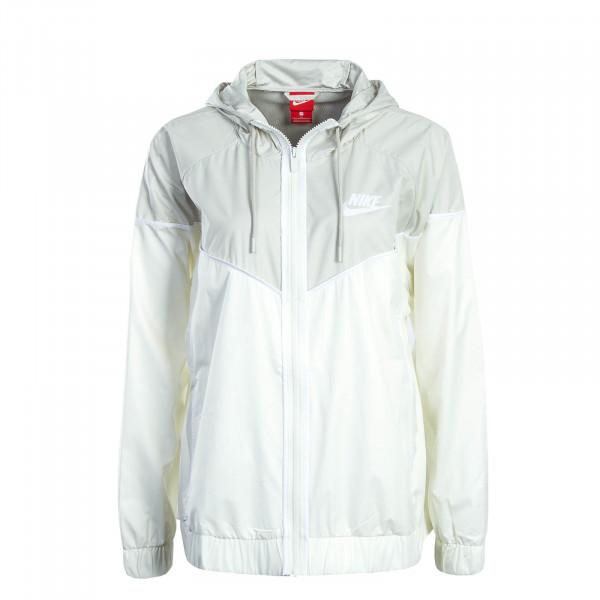 Nike Wmn Jkt NSW Windrunner White Grey