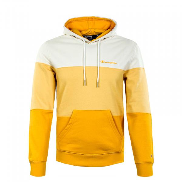 Herren Hoody - Hooded Sweatshirt - Yellow
