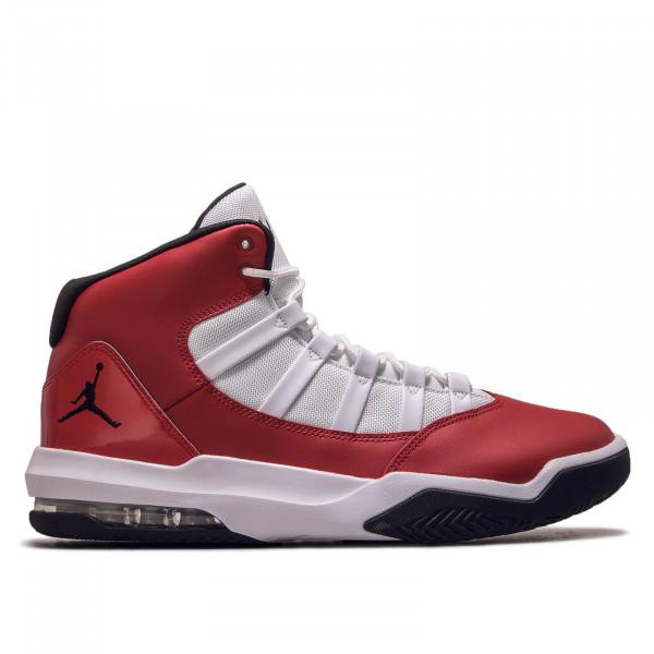 Herren Sneaker Max Aura Red Black White