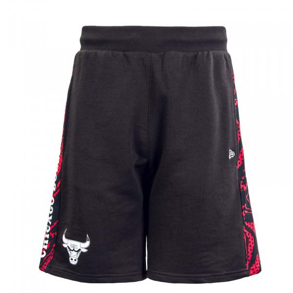 Herren Short - NBA Print Panel Chicago Bull - Black