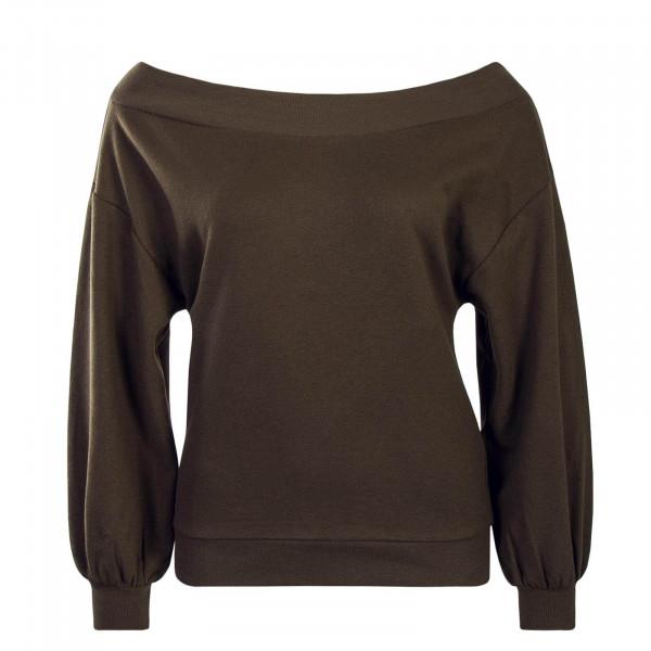 Damen Sweatshirt - Marguerite - Olive
