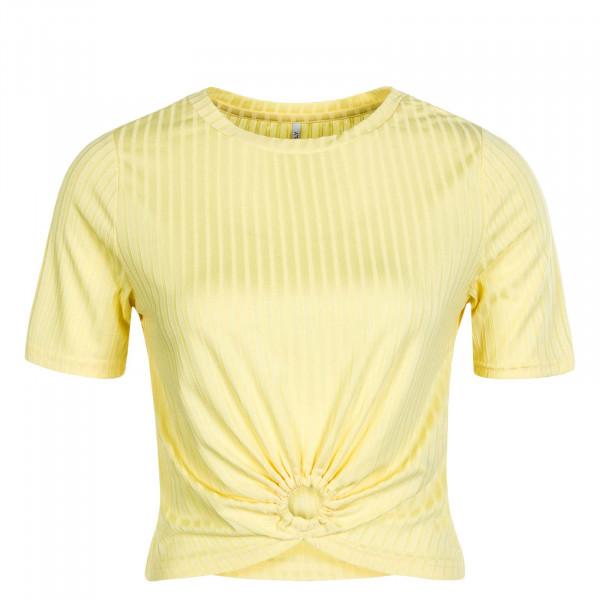 Damen T-Shirt Simone S/S O-Ring Pineapple