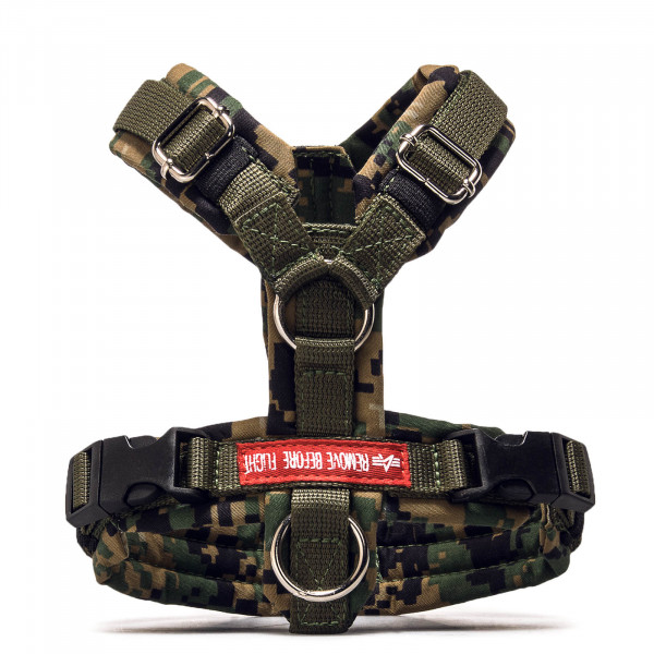 Hundegeschirr Dog Harrnes 547 Digital Olive Camouflage
