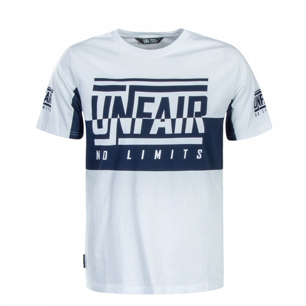 Unfair TS No Limits White Navy