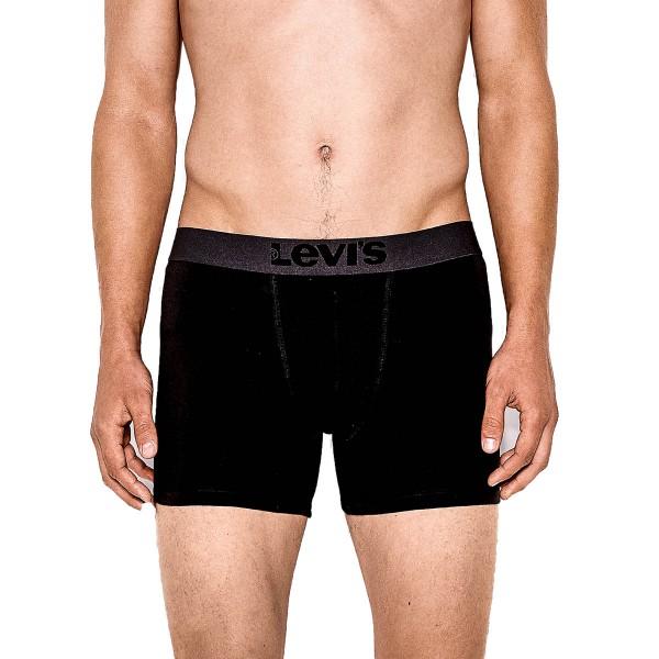 Levis Boxer Brief 2 Pack Black