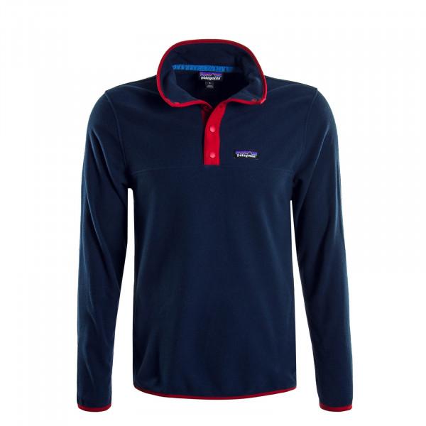 Herren-Sweatshirt Fleece Micro Navy Red