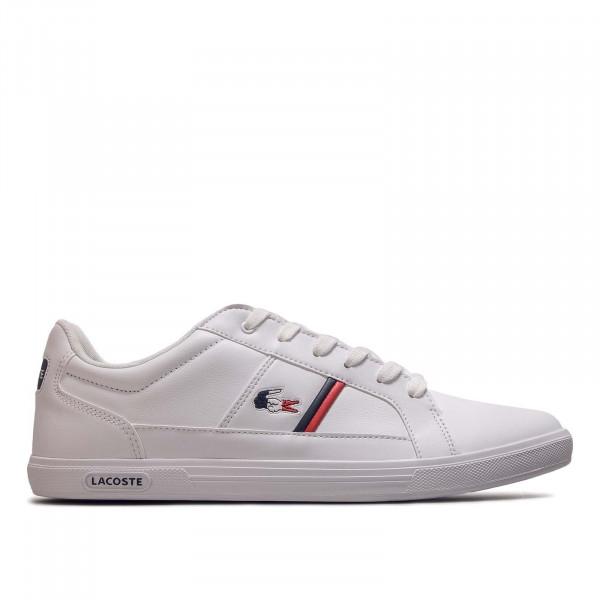 Herren Sneaker Europa 407 White Navy Red