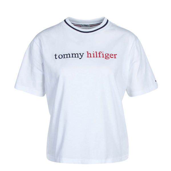 Damen T-Shirt Logo 2265 Classic White