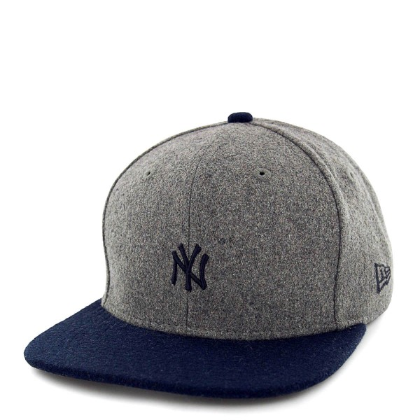 Cap 9Fifty New York Yankees Melton Mini Grey