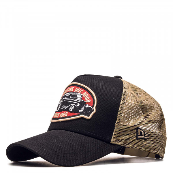 Trucker-Cap Hot Rod Black Beige