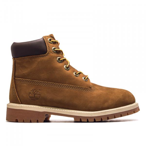 Damenstiefel Boot 6IN PREM Rust Nubuk Brown
