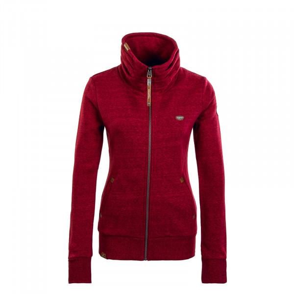 Damen Sweatshirt - Izolda - Wine Red
