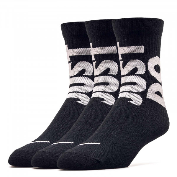 Socken 3er Pack NK NSW Everyday Essen 0539 Black
