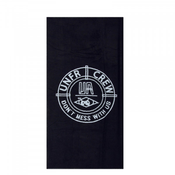 Towel DMWU Beach Black White