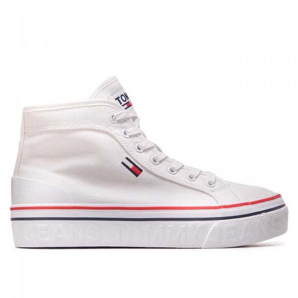 Damen Sneaker - Jeans Mid Flatform Vulc 1414 - White
