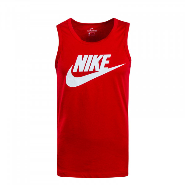Herren Tank Top Icon Futura Red White