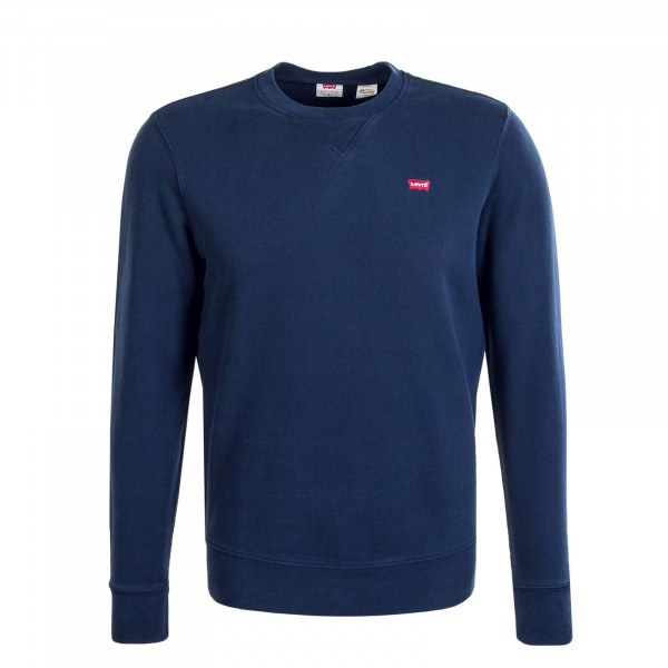 Herren Sweatshirt Crew New Orginal Chisel Dress Blue