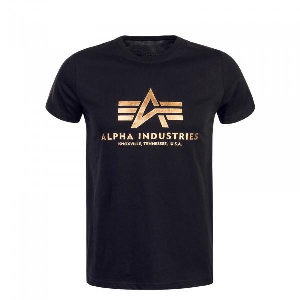 Herren T-Shirt - Basic - Black Copper