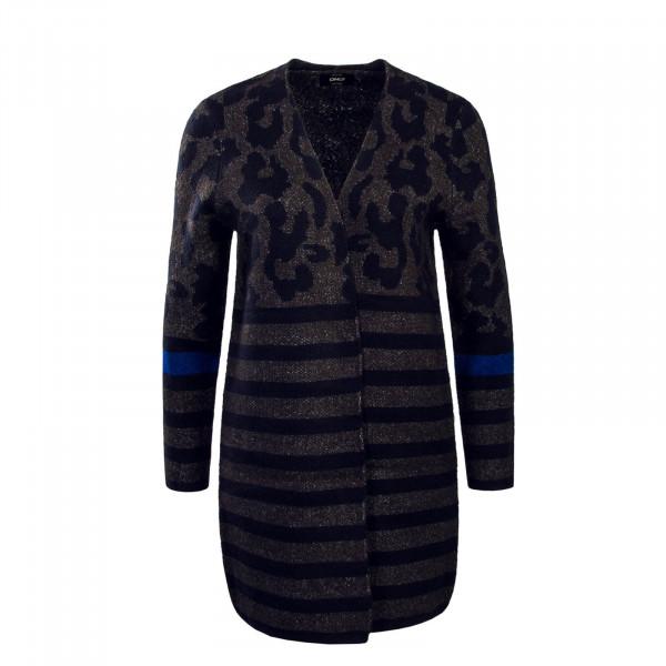 Damen Knit Jacke Odine Grey Blue
