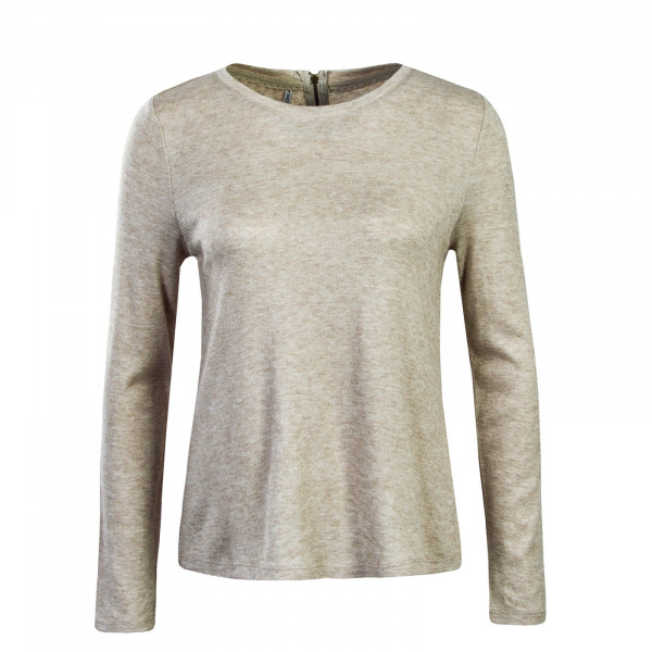 Damen Longsleeve Ashley Beige Melange