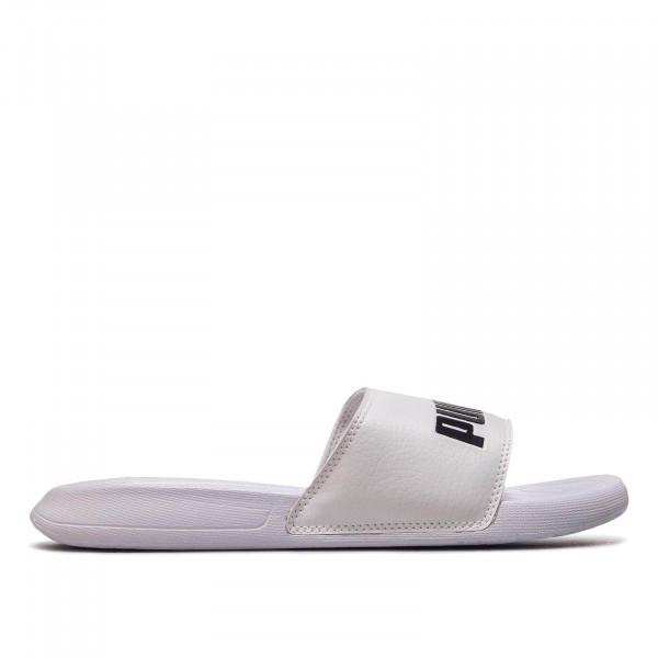 Herren Slide Popcat White Black
