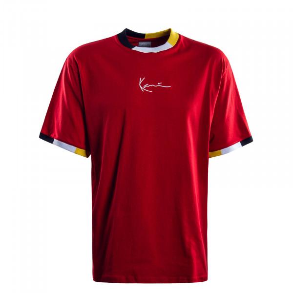 Herren  T-Shirt Signature Red