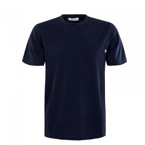 Herren T-Shirt - Bobby Pocket - Navy