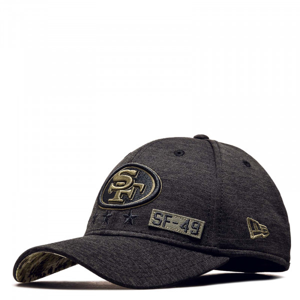 Cap NFL20 STS 3930 49ers Black Olive