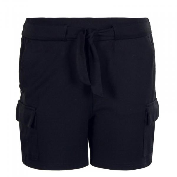 Damen Short Poptrash Cargo Black