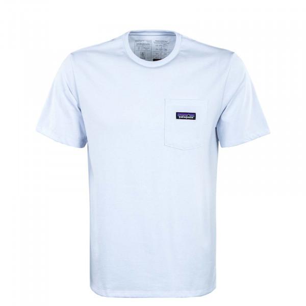Herren T-Shirt - Label Pocket Responsibili - White