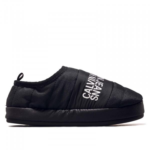 Damen Hausschuhe - Slipper Warm Lining - Black