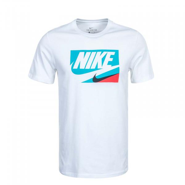 Herren T-Shirt NSW Core Tee 1 CU0083 White