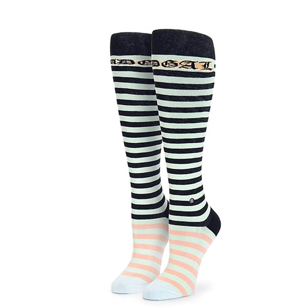 Damen Socken Rihanna Candy Mint Black