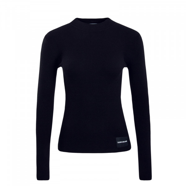 Knit Iconic Rib Black