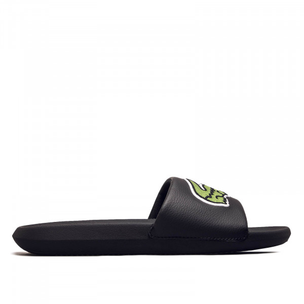 Herren Slide Croco 319 Black Green